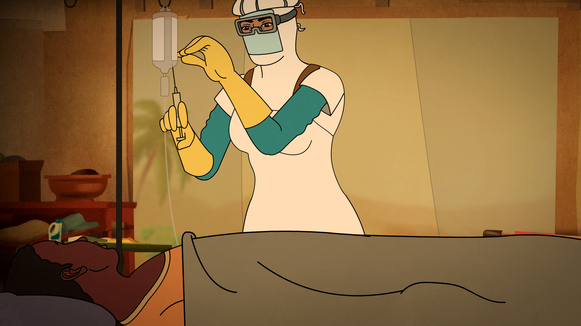 Compelling animation looks to dispel Ebola myths