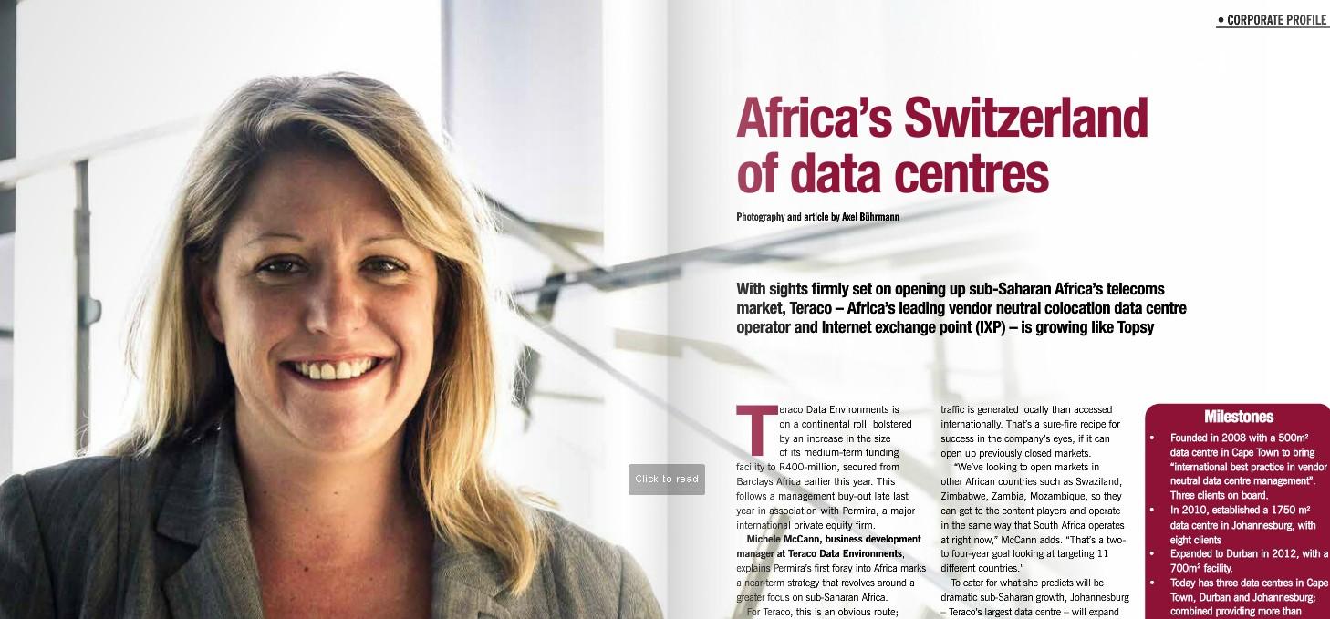 Teraco – Africa's Switzerland of data centres