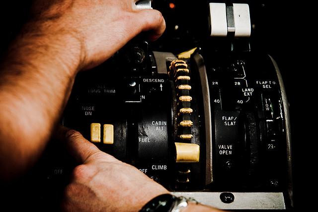 pilot controls