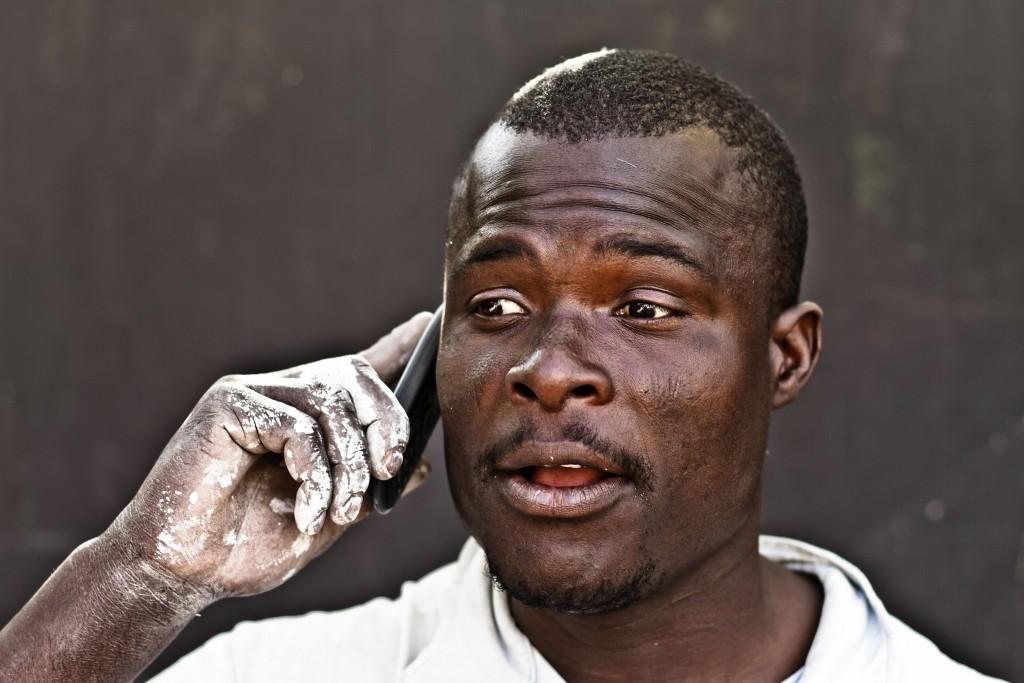 Kenyan Phone User