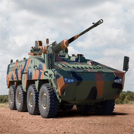 Mbombe 8 for global defence market