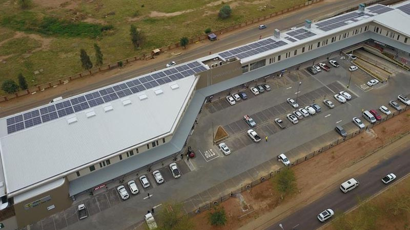 Lynnwood Lane Retail Centre powers up with solar