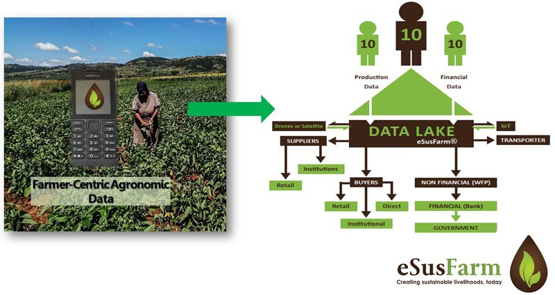 eSusFarm: Food-to-fork smallholder empowerment